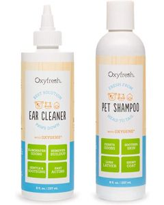 OxyFresh Pet Reiniging Kit Shampoo en Oorreiniger